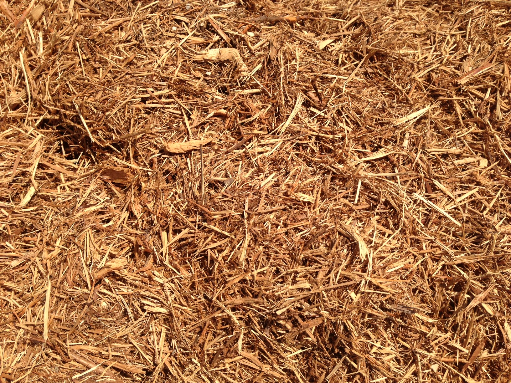 how to make wood mulch
